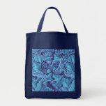 """""""Acanthus True Blue"""" Tote Bag"""