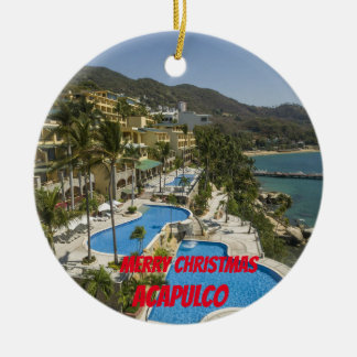 Acapulco Custom Christmas Ornament