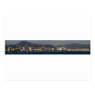 Acapulco panorama 4 postcard