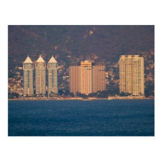 Acapulco skyline 3 postcard