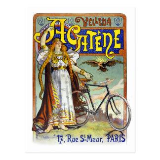 Acatène Velleda French Vintage Advertising Poster Postcard