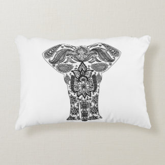 Accent Pillow Elephant Print - Fully Customizable