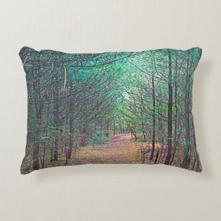 Accent Pillow - Nature Trail Pattern Full Color