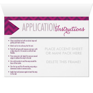Accent Sheet or Mani Pack Notecard with Envelope