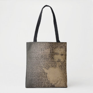 """""""Accept"""" All-Over-Print Tote Bag"""