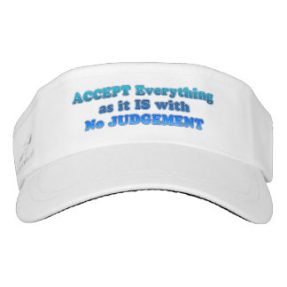 Accept Everything Visor