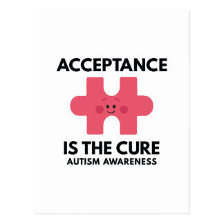 Acceptance Is The Cure Postcard