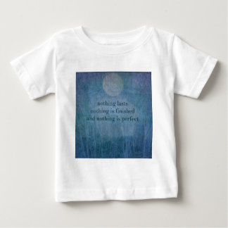 Acceptance  quote wabi sabi baby T-Shirt
