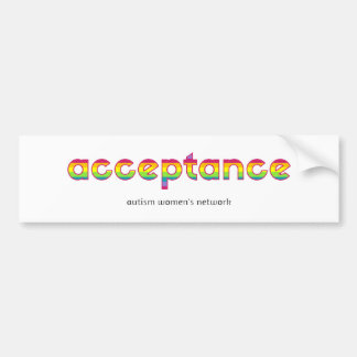 acceptance stickers bumper sticker