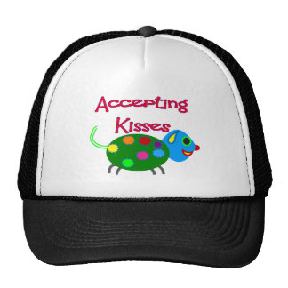 Accepting Kisses Shirts Trucker Hat