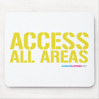 Access All Areas Mouse Pad