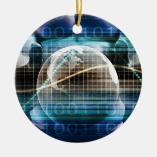 Access Control Security Platform Ceramic Ornament