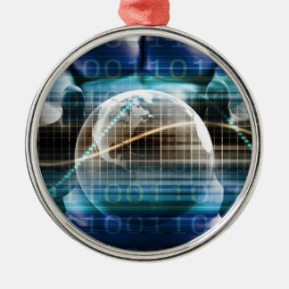 Access Control Security Platform Metal Ornament