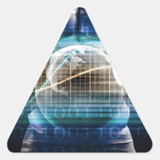 Access Control Security Platform Triangle Sticker