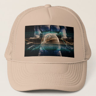 Access Control Security Platform Trucker Hat