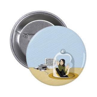access denied 2 inch round button