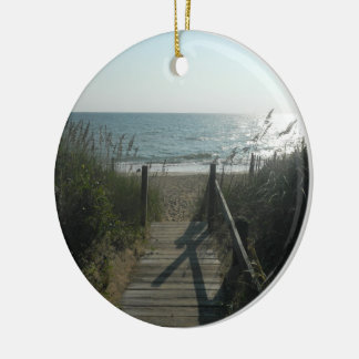 Access To The Beach Ceramic Ornament