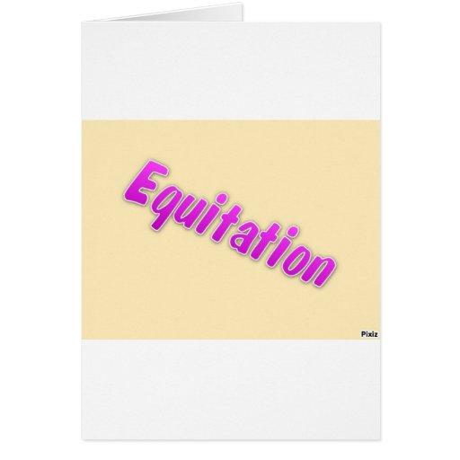accessoires equitation greeting cards