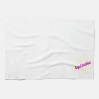 accessoires equitation kitchen towel