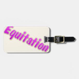 accessoires equitation bag tag