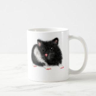 Accessoires syriens blancs noirs mignons de mug à café