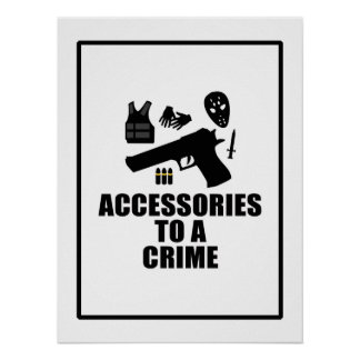 Accessories to a Crime Poster