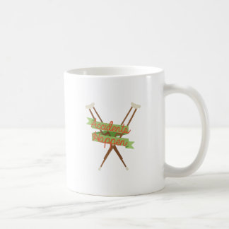 Accidents Happen Crutches Coffee Mug