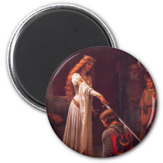 Accolade - The Knight 2 Inch Round Magnet