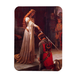 Accolade - The Knight Rectangular Photo Magnet