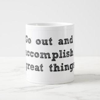 Accomplish Great Things Jumbo Mug