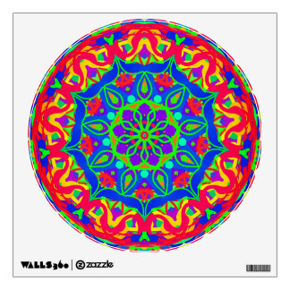 Accomplished Mandala Colorful Wall Decal