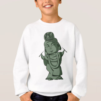 Accomplishing pulling out English story Sugamo Sweatshirt