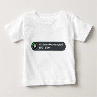 Accomplissement débloqué - soutenu t-shirt pour bébé