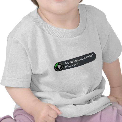 Accomplissement débloqué - soutenu t-shirts