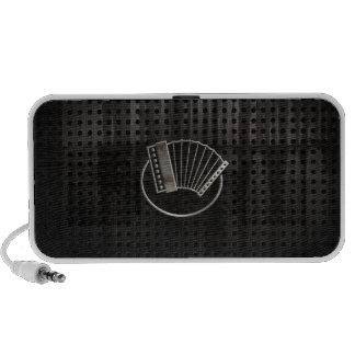 Accordéon rocailleux haut-parleur iPod