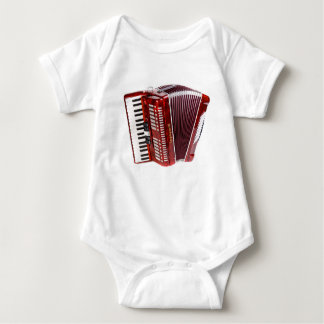 ACCORDIAN MUSICAL INSTRUMENT BABY BODYSUIT
