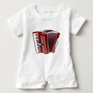 ACCORDIAN MUSICAL INSTRUMENT BABY ROMPER