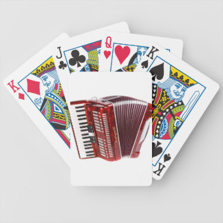 ACCORDIAN MUSICAL INSTRUMENT BICYCLE PLAYING CARDS