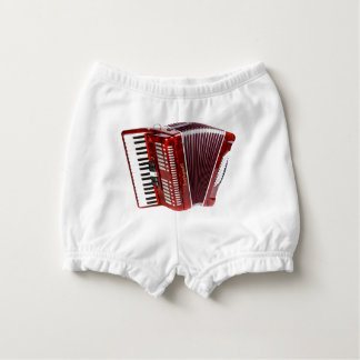 ACCORDIAN MUSICAL INSTRUMENT DIAPER COVER