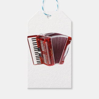 ACCORDIAN MUSICAL INSTRUMENT GIFT TAGS