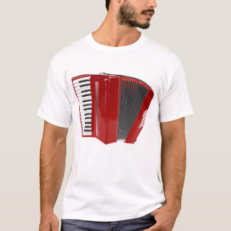 accordian players tshirt