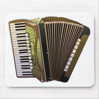 accordion all alone mouse pad