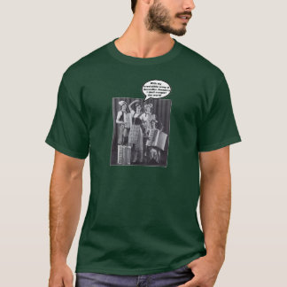 Accordion Amazonians' Army T-Shirt