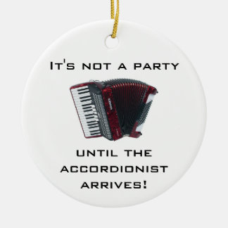 ACCORDION Christmas ornament