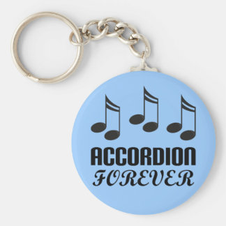 Accordion Forever Music Gift Keychain