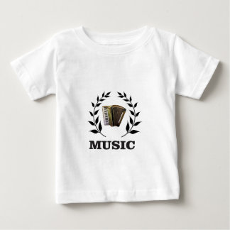 accordion music branch baby T-Shirt