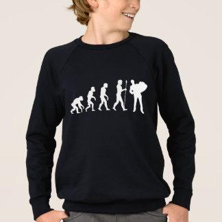 Accordion Player Evolution Sweatshirt