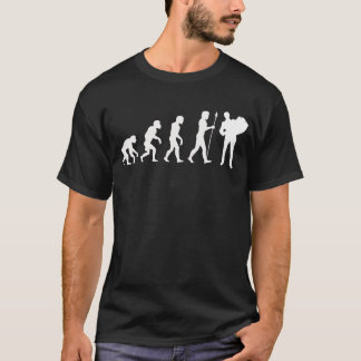 Accordion Player Evolution T-Shirt