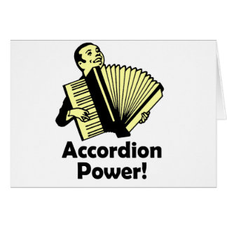Accordion Power! Card