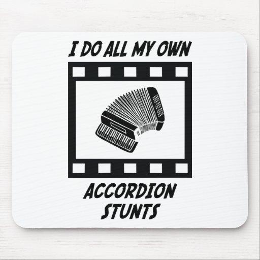 Accordion Stunts Mouse Pad